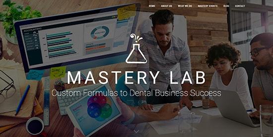 Mastery Lab screen shot